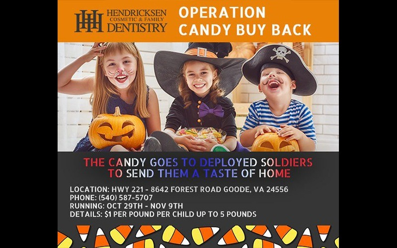 Operation candy buy back flyer