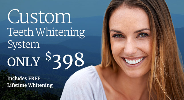 Custom Teeth Whitening System Only 398